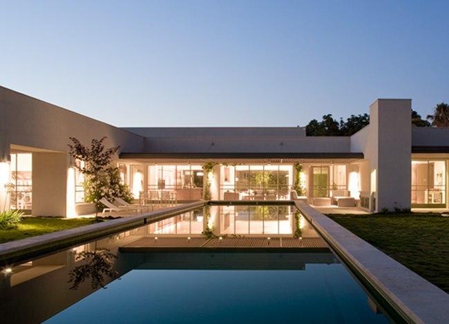 פרויקט אדריכלות בית פרטי בצרה