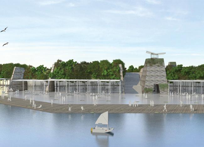 אדריכלות נוף לפארק אריאל שרון