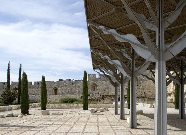 פרויקט אדריכלות נוף הגן האומאי