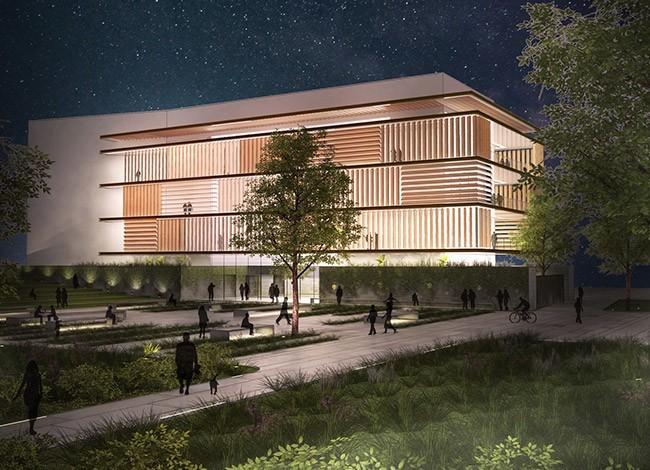 פרויקט אדריכלות לבית הספר ליזמות