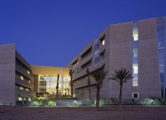 פרויקט אדריכלות לאוניברסיטת בן גוריון
