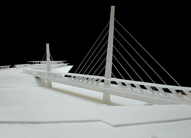 פרויקט אדריכלות לתחנת רכבת וגשר