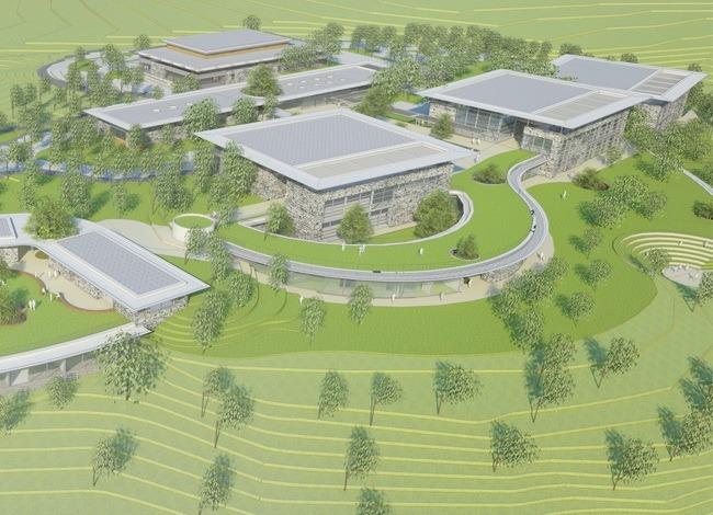 פרויקט אדריכלות לקמפוס לחינוך טכנולוגי