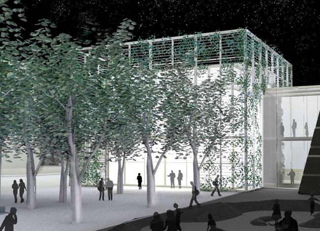 פרויקט אדריכלות לככר העיר רעננה