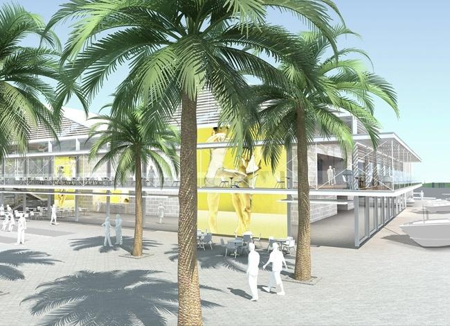 פרויקט אדריכלות למרכז מחול ביפו