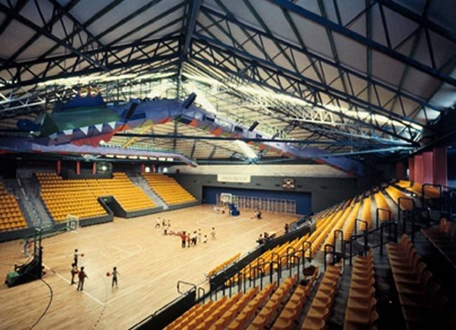 פרויקט אדריכלות לאולם הספורט מלחה