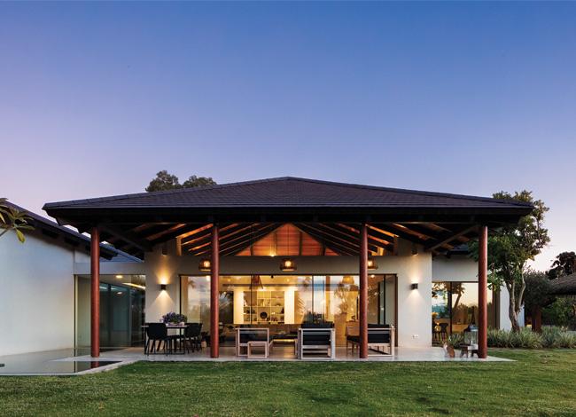 אדריכלות בית פרטי בעדנים