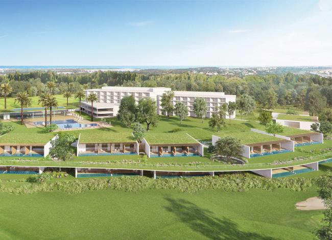 פרויקט אדריכלות למלון דן קיסריה